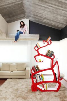 40 Unusual and Creative Bookcases