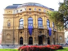National Theater of Szeged National Theatre, Czech Republic, Austria, Poland, Europe, Explore, Mansions, House Styles, Theater