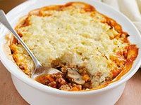 This is just like Mum used to make, but without the fatty mince and mashed spuds.