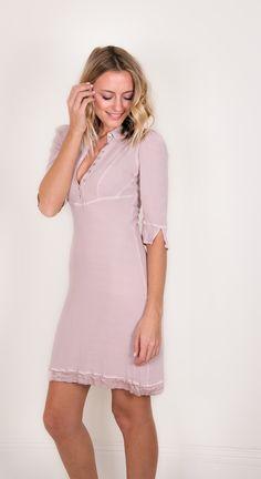 The spring winner, Nikita Shirt Dress, £155, on LUX FIX https://lux-fix.com/shop/nikita-rose-shirt-dress-by-feather-bone