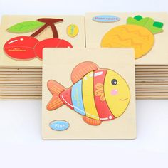 1 Piece Wooden 3D Wood Puzzle Jigsaw Wooden Toys For Children Cartoon Animal Puzzle Intelligence Educational Wood Toy Kids Toys. Yesterday's price: US $1.79 (1.47 EUR). Today's price: US $1.29 (1.07 EUR). Discount: 28%.