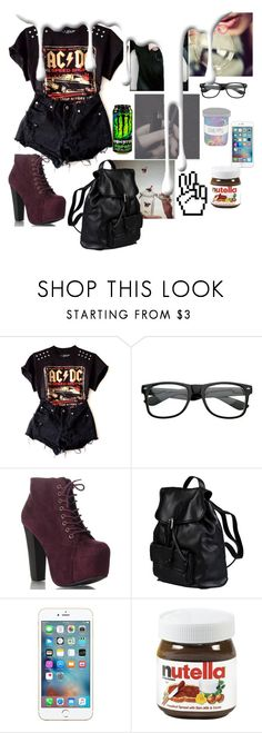 """""""BAD DAY"""" by thaisa-tcs ❤ liked on Polyvore featuring Mode, Retrò, Doucal's und Nivea"""