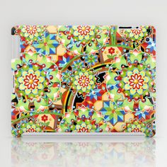 Design Confections Pattern on Pattern III iPad Cases by #PatriciaSheaDesigns