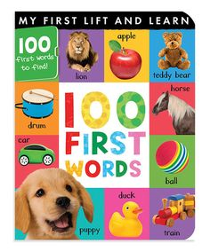 Little ones can lift the flaps to learn about words and sounds. With plenty of vibrant illustrations, this board book makes learning fun. Fun Learning, Learning Activities, Wiggles Birthday, Christmas Gifts For Boys, Toddler Books, One Word, Baby Fever, Little Ones, The 100