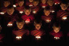 Impresionantes imágenes de Birmania