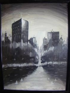 "Saatchi Art Artist bratu mihaela; Painting, ""the future"" #art"