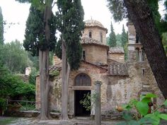 Kaisariani Monastery, Aesthetic forest in Athens