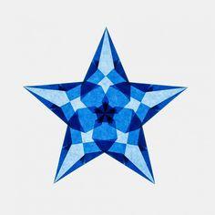 Paper Snowflake Patterns, Paper Snowflakes, Paper Stars, Christmas Star, Xmas, Papier Kind, Parol, Christmas Wonderland, Origami