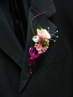 Some funky fun Prom Flowers - Boutonniere - Contemporary