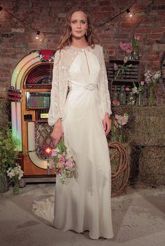 Wedding Dresses at Bridal Fashion Week Spring/Summer 2017   POPSUGAR Fashion UK