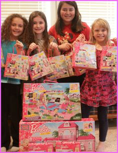 Mega Bloks Barbie Party! #Barbie @Mega Bloks