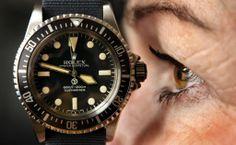 Rolex meets the eye. Rolex Submariner with Nato strap. Sports Models, Nato Strap, Rolex Submariner, Omega Watch, Rolex Watches, Eyes, Cat Eyes