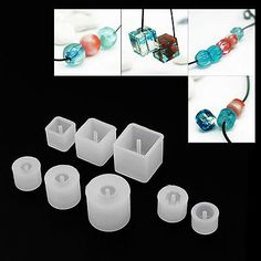 Mirror Jewelry Armoire Craft Details about Silicone DIY Beads Mold Bracelet Pendant Jewellery Making Mould Resin Craft Tool Diy Crafts How To Make, Diy Resin Crafts, Jewelry Crafts, Handmade Jewelry, Simple Crafts, Cardboard Crafts, Yarn Crafts, Diy Silicone Molds, Resin Molds