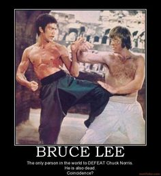 Bruce Lee Defeated Chuck