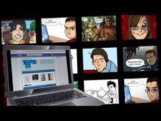 Válj képregényhőssé! Facebook alkalmazás az Intel Hungary részére - Visionary 7