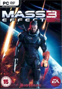 Mass Effect 3 (PC) Game (RPG) Brand New & Factory Sealed- FREE SHIPPING!