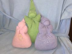 Today my friend Helen came to share with us how to make a sweet little first doll for a baby from a recycled woollen garment.  Helen moved t...