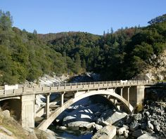 hwy 49 gold country map | Panoramio - Photo of Old Bridge over Highway 49 in Gold Country
