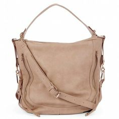 Leather Beige Purse