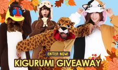 Kigurumi Shop Blog | Fall Giveaway