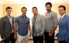 #MagicMike - Alex Pettyfer, Matthew McConaughey, Channing Tatum, Joe Managaniello, Matt Bomer