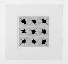 Available for sale from bitforms gallery, Manfred Mohr, (Lady Quark) Plotter drawing ink on paper , 17 × 17 in New Media Art, New Words, Geometry, Artsy, Anniversary, Gallery, Drawings, Lady, Artwork