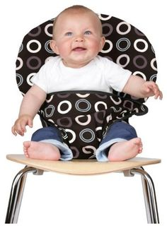 """Tot Seat Totseat - Turn any chair into a """"high chair"""" - very cool product!"""