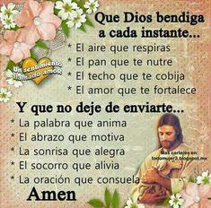 Que Dios te bendiga en todo momento y lugar
