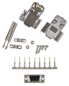 Allen Tel Products ATD9MCKS 9-Pin, Male Shielded Connector Kit by Allen Tel. $6.96. From the Manufacturer                Allen Tel Products, Inc. offers a variety of data accessories to compliment the growing data communications market. Adapter and Connector Kits Gender Changers Wall Plates RS 232 Mini-Tester Gender Adapter Computer, Monitor and Printer Cables. Our Data products are designed for ease of installation and to provide high, quality performance in supportin...