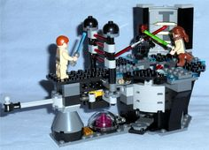 Lego - 73169 Star Wars Duel on Naboo with Obi-Wan Kenobi, Qui-Gon Jinn, and Darth Maul