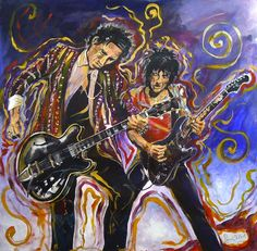 "Ronnie Wood ""Ronnie and Keith"""