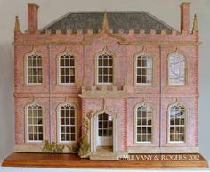 For the eccentric child- custom built luxury dollhouse $34,000 by Mulvany & Rogers out of England