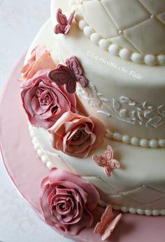 Rose cake | La ricetta che Vale