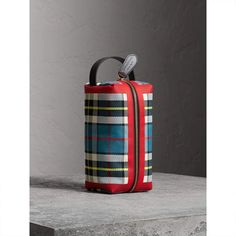 Burberry Tartan Cotton Pouch Burberry Handbags 89fefa18440bc