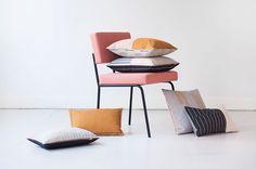 Prachtige kussens van ontwerpster Mae Engelgeer