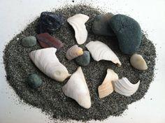 Lavender Potpourri Beach Pack  Sand Rocks and by IdleHandsBoutique, $9.95