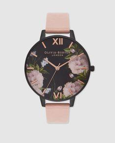 Reloj de mujer Olivia Burton de piel rosa