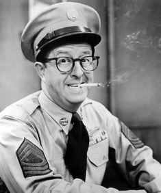 Sgt. Bilko (The Phil Silvers Show) 1955-1959 - The show had some great character actors on it. It took place on an Army base that was supposed to be located in Kansas.