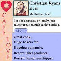 dating profile description