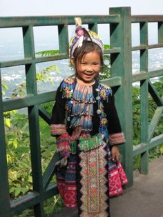 Local girl in traditional dress, from Chiang Mai,Thailand ...