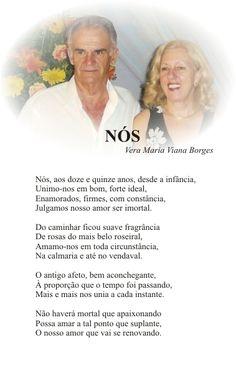 Vera Maria Viana Borges: NÓS  (Página do livro TRILHAS POÉTICAS)