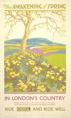 The awakening of spring, by A A Moore, 1926 -
