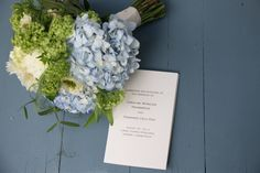Viburnum, hydrangea and Garden rose green eye wedding bouquet