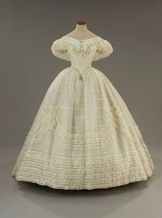 WORTH GOWN 1866