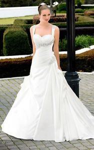 2013 New White/Ivory Wedding Dress Custom or Size 6 8 10 12 14