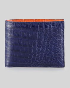 For Father s Day  Bicolor Crocodile Wallet eaa29a88994ea
