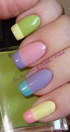 For the Love of Purple... Polish!: A Little Touch of Spring!