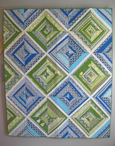 Bluegrass Kaleidoscope Quilt (from Pear Tree Stitching)