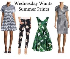 Come check out these summer prints that are work appropriate! #summerstyle #9to5style
