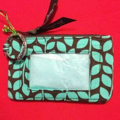Vera Bradley Zip ID Case Style is Shower Vines. New with tags Vera Bradley Bags Wallets